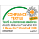 Coton OEKO TEX tete-renard-roux fond blanc en 160cm