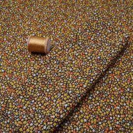 Tissu Coton cretonne imprimé fleuri MIRABELLE en 150cm