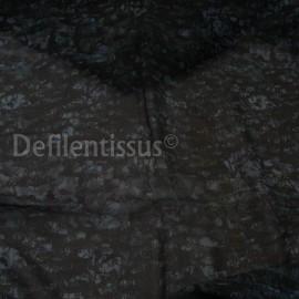 Crêpe de soie fond bleu en 135 cm n°269
