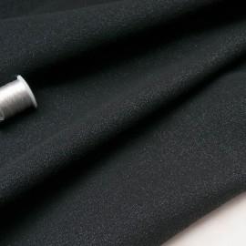 Au mètre maille lainage noir pailleté BALMAIN en 140cm n°10656
