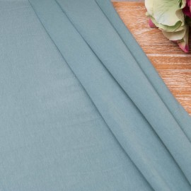 Au mètre Jersey Coton bleu pétrole en 180cm Oekotex n°10672