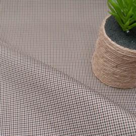 Tissu gabardine type toile déperlante émerisée en 150cm n°10747