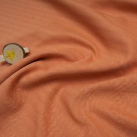 Toile Denim Coton couleur tomette en 150cm n°10763