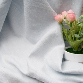 Toile légère polyester et Coton bleu ciel en 110cm n°10770 DPH