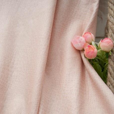 Au mètre jersey rose scintillant effet serpent en 145cm n°10774