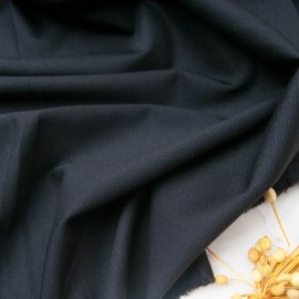 Au mètre maille type Milano noir polyester en 150cm n°10783