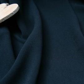 Au mètre crêpe lourd noir acétate Haut de gamme en 145cm n°10825