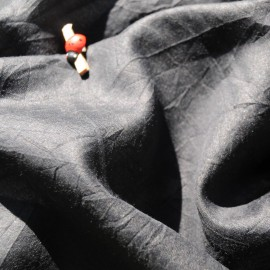 100% Voile de Coton noir 2m en 145cm n°657B