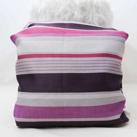 Coupon BAYADERE violet Toile Polyester 1m40 en 150cm