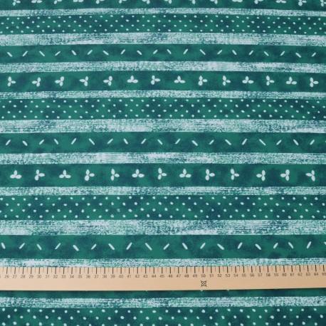 Tissu au mètre Jersey Lycra Polyester vert en 145cm n° 700