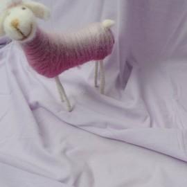 Coupon jersey de coton parme 2m60 en 140cm n°221