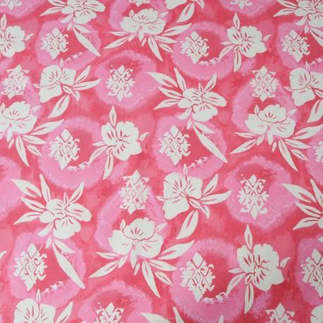 Tissu Jersey coton rose en 145cm n°705